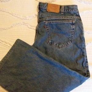 Mens Levi 550 jeans